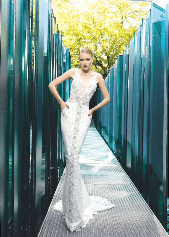 Picture Of sumptuous yolan cris 2015 wedding dresses collection  23