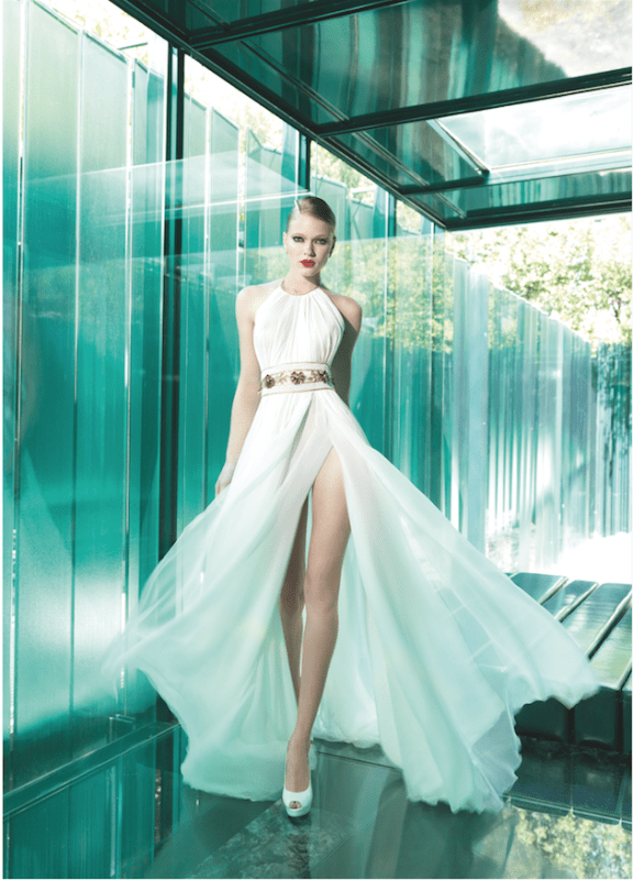 Picture Of sumptuous yolan cris 2015 wedding dresses collection  24