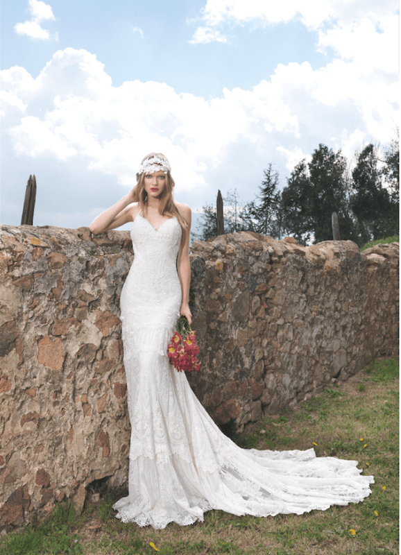 Picture Of sumptuous yolan cris 2015 wedding dresses collection  3