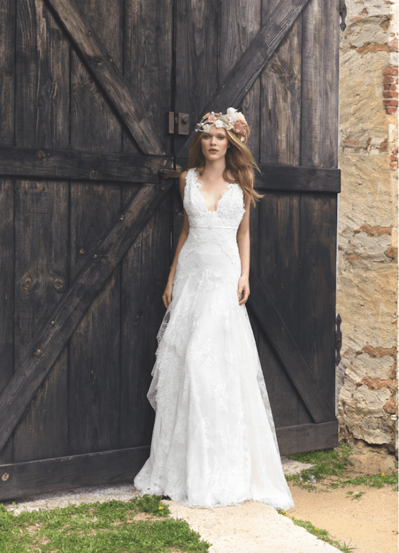 Picture Of sumptuous yolan cris 2015 wedding dresses collection  5