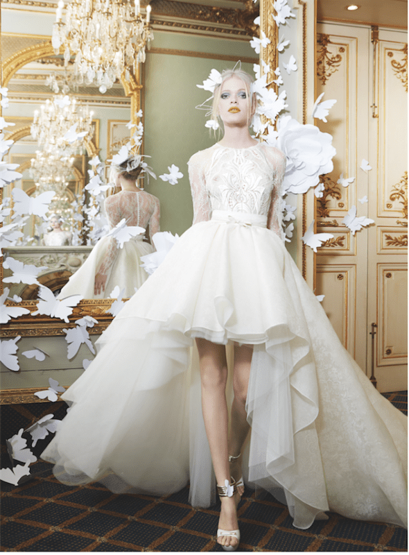 Picture Of sumptuous yolan cris 2015 wedding dresses collection  6