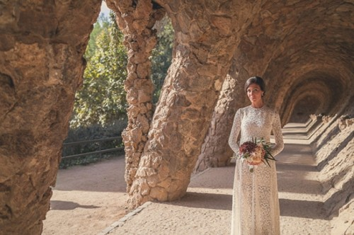 Sunlit Barcelona Destination Wedding Shoot