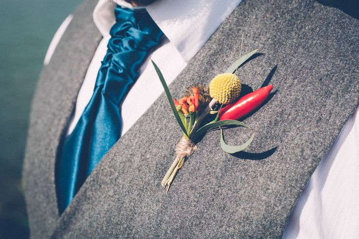 Picture Of super colorful boho mexican wedding  11