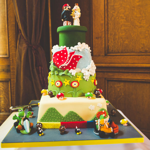 mario bros wedding cake picture of mario bros inspired wedding 17142