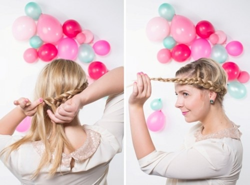 Sweet And Easy Diy Crown Braid Hairstyle