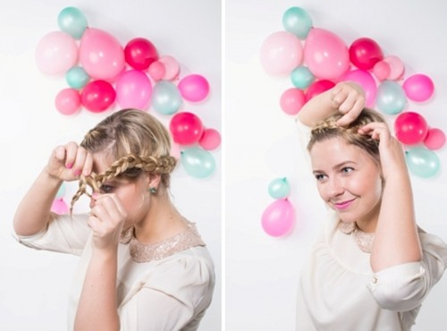 Sweet And Easy Diy Crown Braid Hairstyle