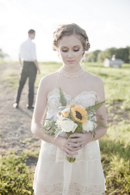 Sweet Tea Farm Shoot Elegance Meets Rustic Charm