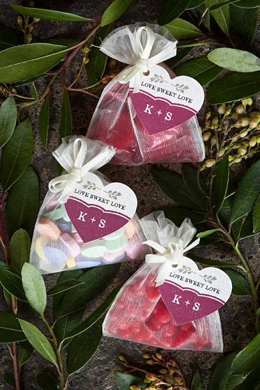 Picture Of tasty and cute diy valentines day wedding favors  1
