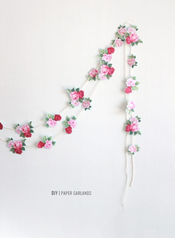 Picture Of the easiest diy wedding paper garland  1