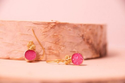 The Hottest 2014 Trend: 25 Druzy Jewelry Ideas