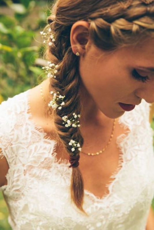 Picture Of the hottest 2015 wedding trend 15 lovely mini floral hair pins  4