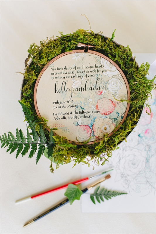 Picture Of the hottest 2015 wedding trend 16 romantic embroidered wedding invitations  13