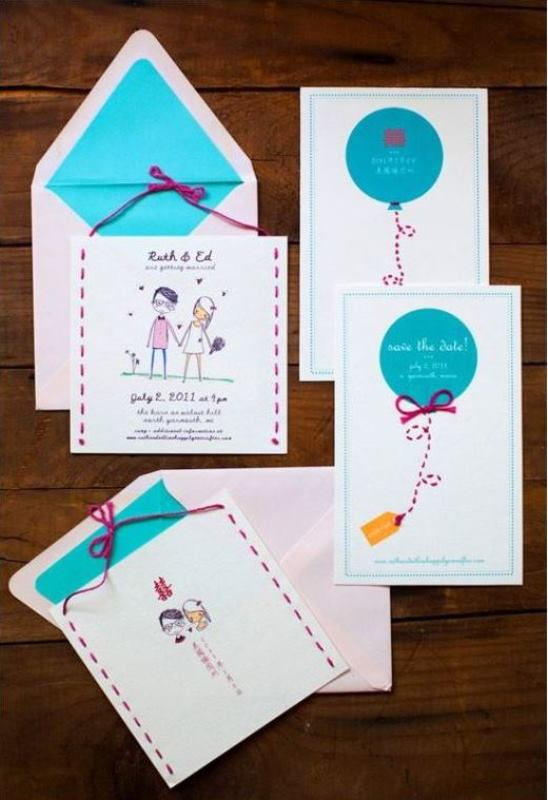 Picture Of the hottest 2015 wedding trend 16 romantic embroidered wedding invitations  15