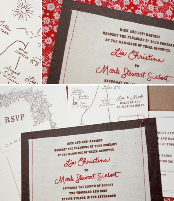 Picture Of the hottest 2015 wedding trend 16 romantic embroidered wedding invitations  3