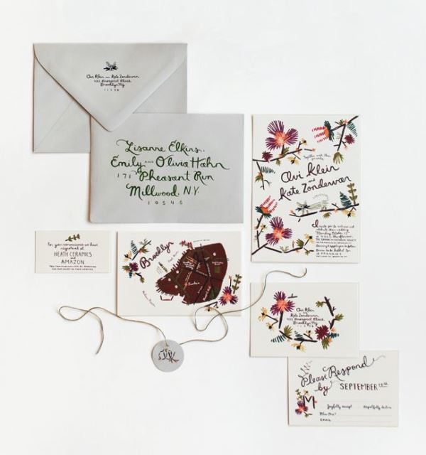 Picture Of the hottest 2015 wedding trend 16 romantic embroidered wedding invitations  6