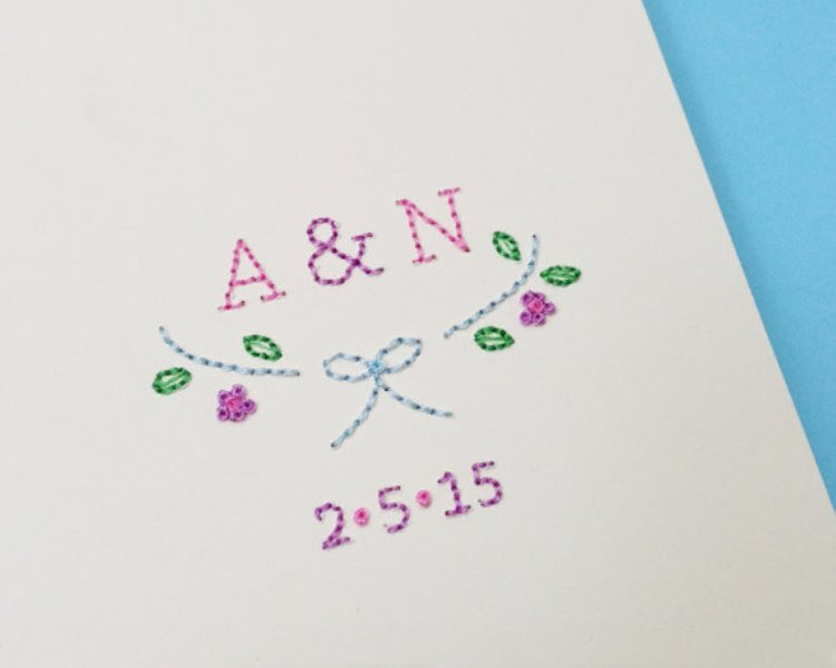 Picture Of the hottest 2015 wedding trend 16 romantic embroidered wedding invitations  7