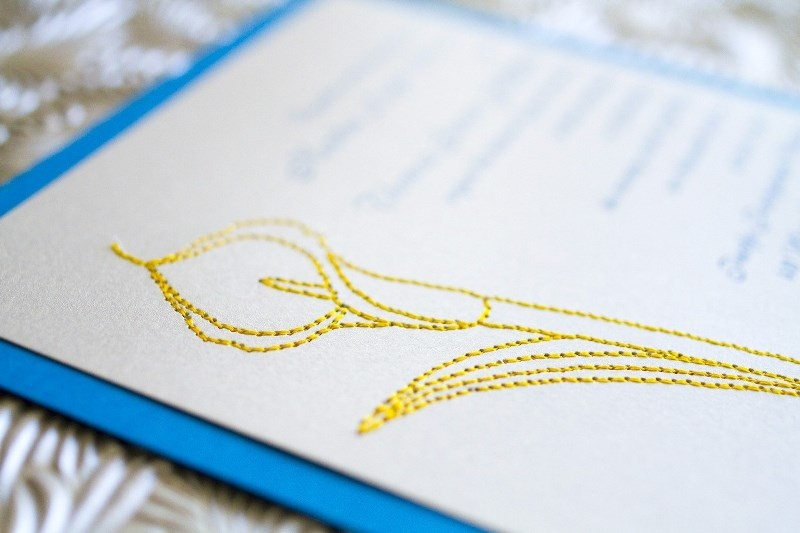 Picture Of the hottest 2015 wedding trend 16 romantic embroidered wedding invitations  9