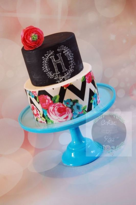 Picture Of the hottest 2015 wedding trend 30 chalkboard wedding cakes  19