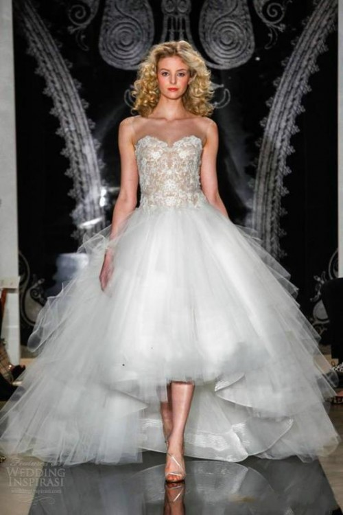 The Hottest 2015 Wedding Trend: 31 Fabulous High Low Wedding Dresses
