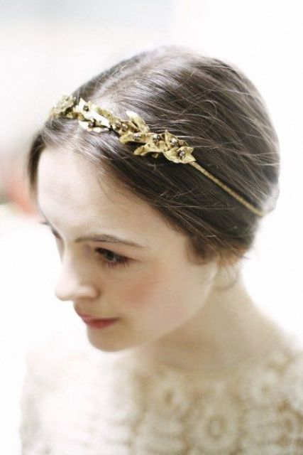 The Hottest 2015 Bridal Trend: 33 Golden Bridal Accessories