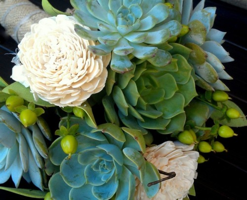 The Hottest Trend Succulent Bouquets