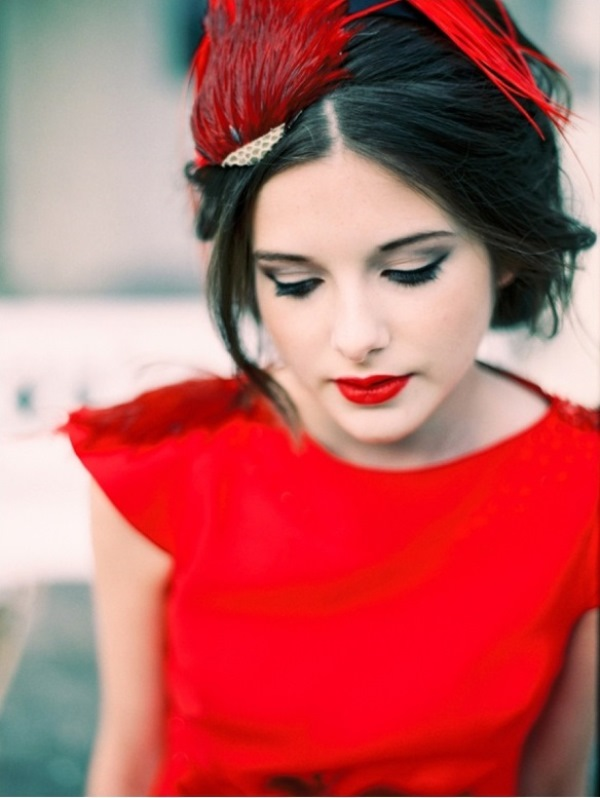 Picture Of the hottest wedding trend 18 pantone 2016 fiesta red wedding ideas  12