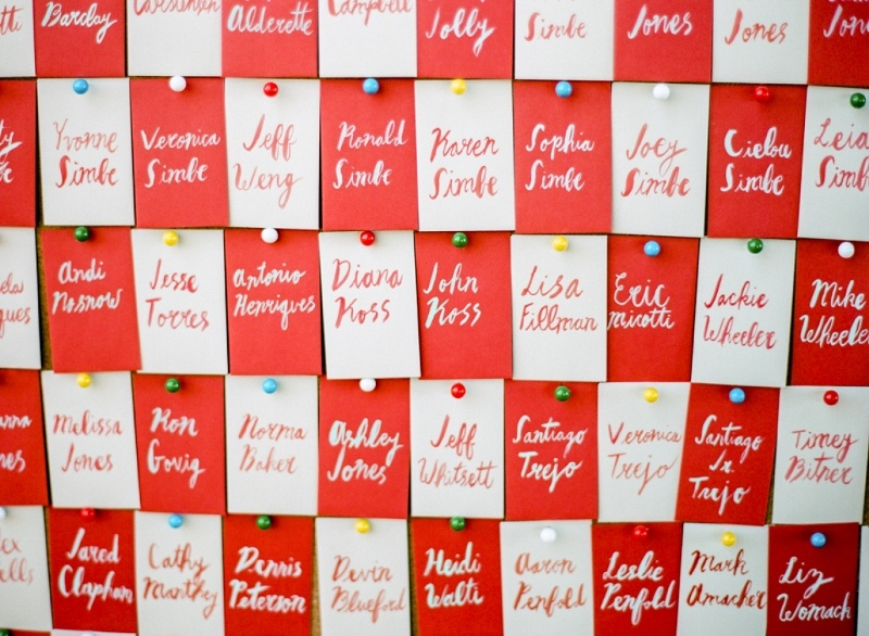 Picture Of the hottest wedding trend 18 pantone 2016 fiesta red wedding ideas  13