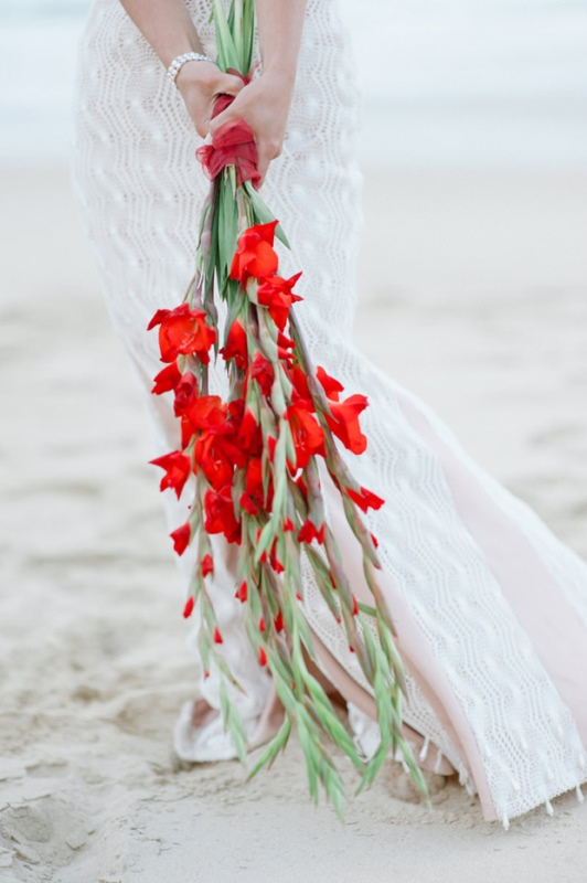 Picture Of the hottest wedding trend 18 pantone 2016 fiesta red wedding ideas  7