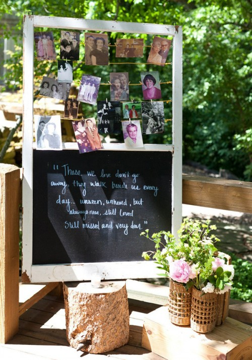 The Hottest Wedding Trend Chalkboard Pieces