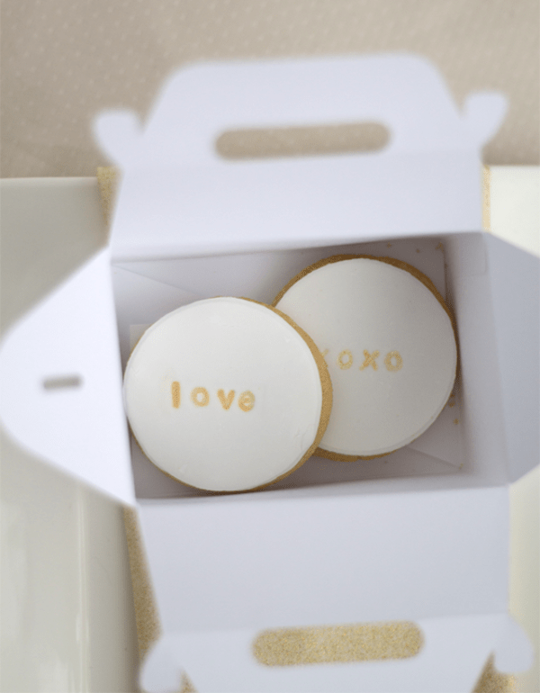 Picture Of the loveliest diy stamped cookie favors for your guests  1