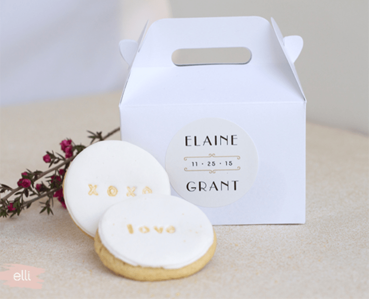 Picture Of the loveliest diy stamped cookie favors for your guests  2