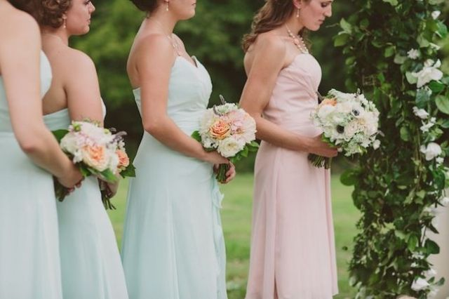 8780c48a925 Picture Of the maid of honor wearing a different dress ideas 25
