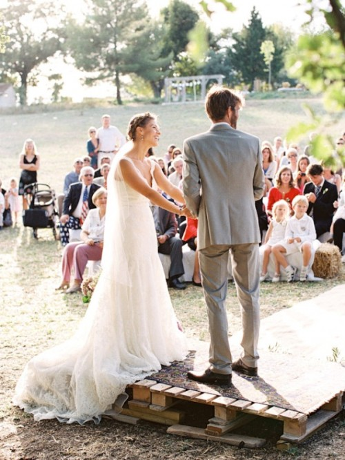 The Most Romantic And Heartfelt Provence Olive Grove Wedding