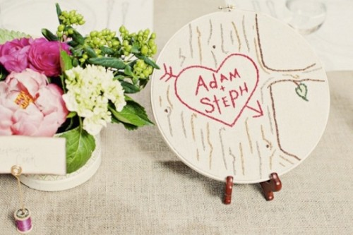 The Newest Wedding Trend Embroidery