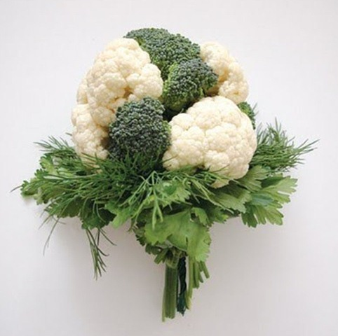 The Newest Wedding Trend: Vegetable Bouquets