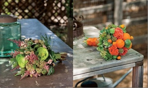 The Newest Wedding Trend Vegetable Bouquets