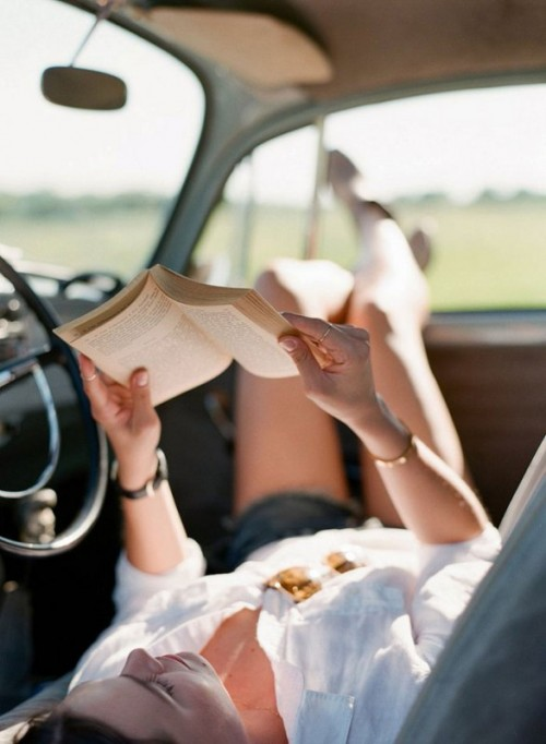 The Sweetest Road Trip Engagement Session