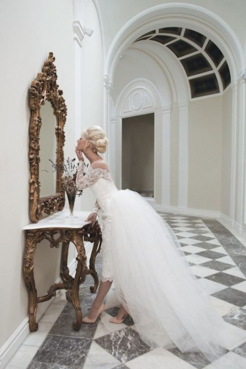 Timelessly Elegant House Of Mooshki Vintage-Inspired Wedding Gowns