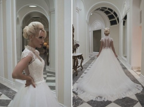 Timelessly Elegant House Of Mooshki Vintage Inspired Wedding Gowns