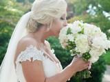 Timelss And Elegant Black Tie Wedding In Alabama