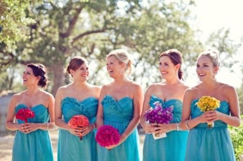 Torquoise And Fuchsia Wedding Inspiration