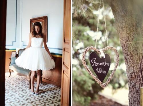 Totally Handmade Wedding In Spain