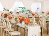 Touching Red And White 40th Anniversary Party To Get Inspired