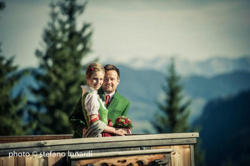 Traditional Austrian Wedding In The 13th Century Church