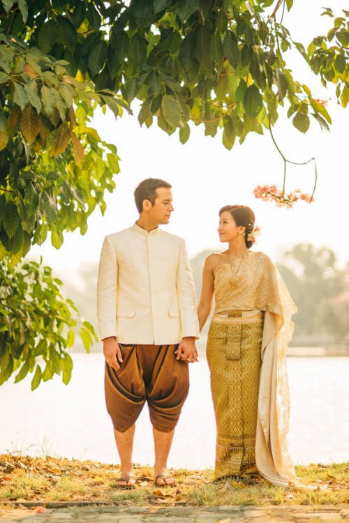 Traditional Thai Wedding With A Homey Feeling