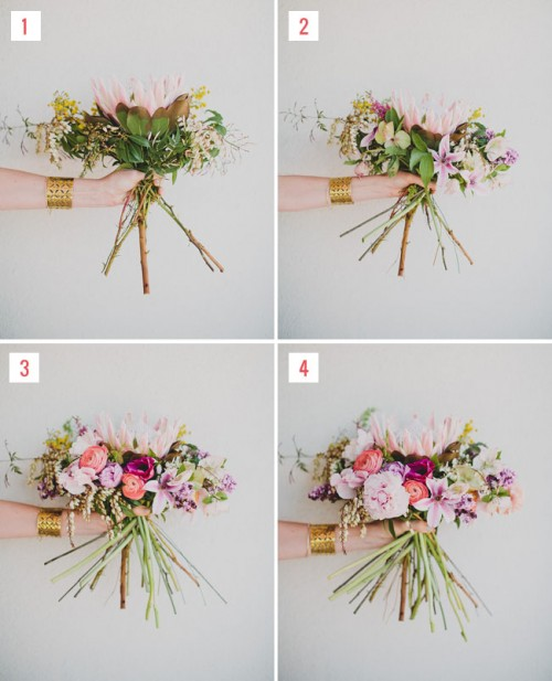 Trendy And Creative DIY King Protea Bouquet