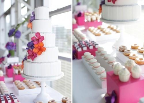 Tropical Wedding Dessert Table Decor By Amy Atlas