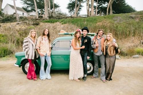 Truly Bohemian California Wedding Inspiration