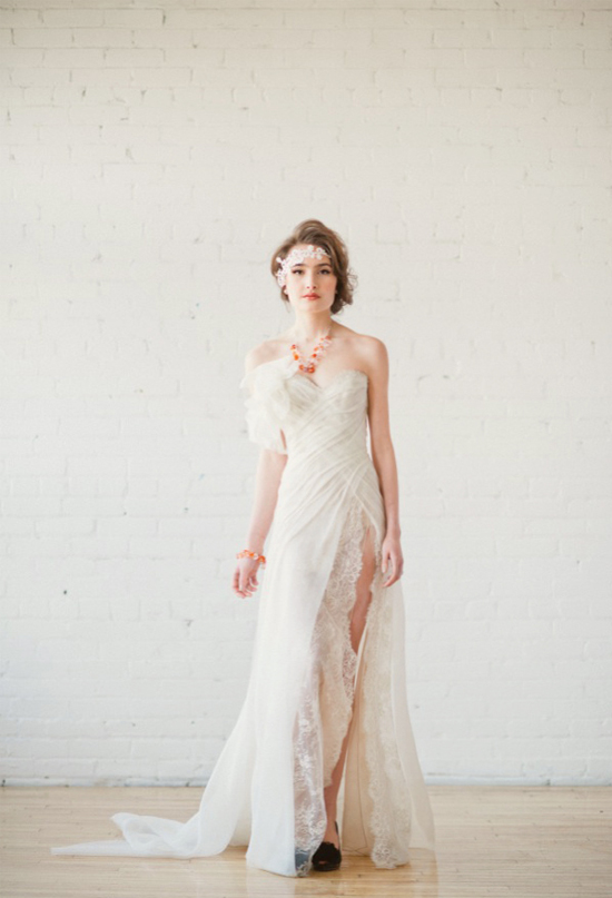 Two Wedding Gowns By Famous Designers Extravagant Vs Traditional
