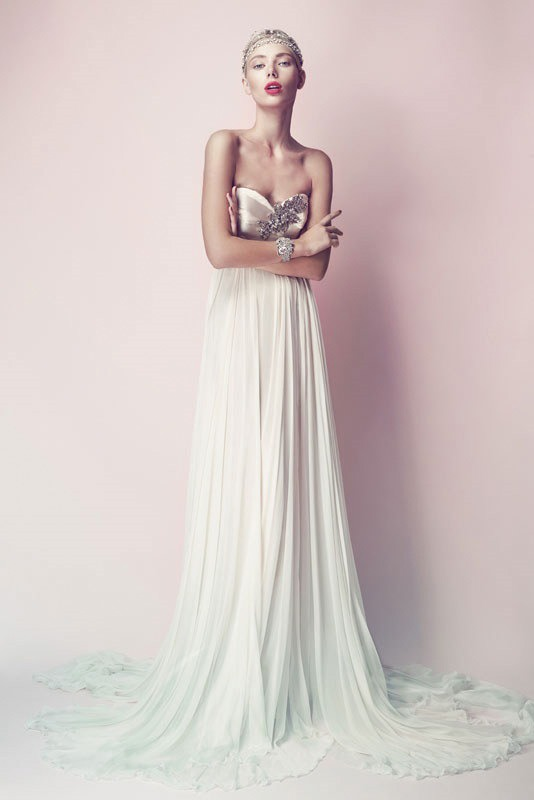 Picture Of ultra glamorous wedding dresses collection from errico maria alta moda sposa  11